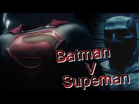 Batman V Superman Teaser Trailer Review and Superman old costume! Judging by the Trailer!