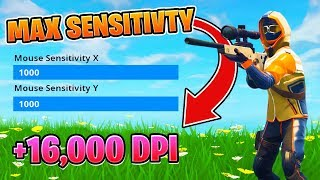 One of Crayator's most viewed videos: MAX Sensitivity and MAX Dpi - Fortnite Battle Royale