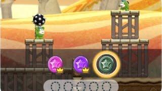 [Super Mario Run] World 6-1: Land of Spikes, black coin run(difficult)