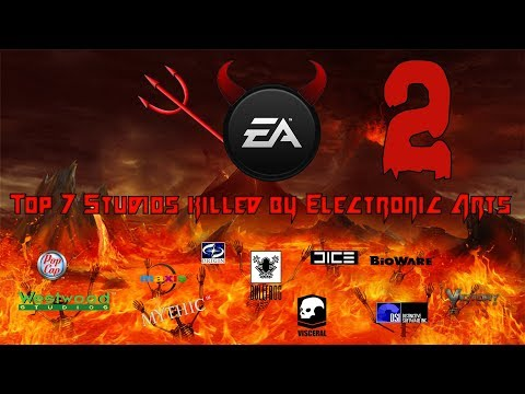 Top 7 Studios killed by Electronic Arts (EA) Part 2