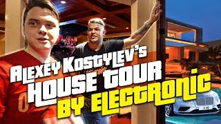 Aleksey Kostylev s house tour by electronic