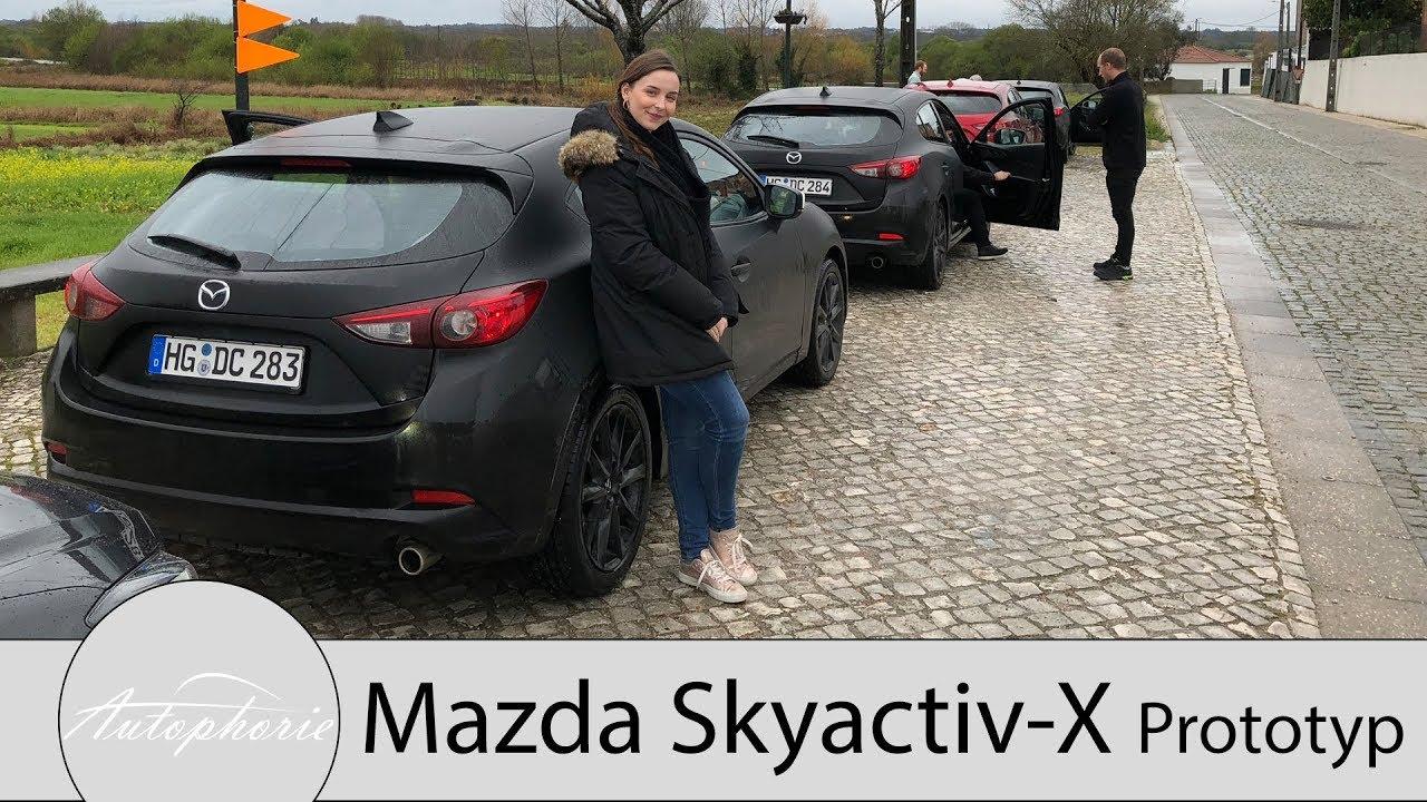 Testfahrt Im Mazda Skyactiv X Prototyp Und Alles Zur Zukunft Von Mazda Autophorie