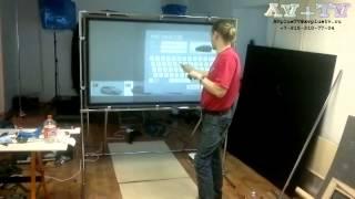 Интерактивная доска обратной проекции(, 2014-09-20T05:07:44.000Z)