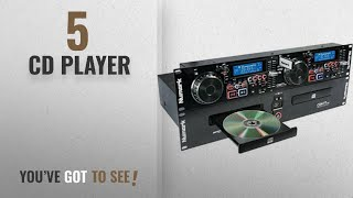 Top 10 Cd Player [2018]: Numark CDN77USB Professional Dual USB and MP3 CD player