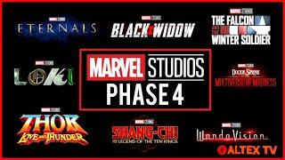 MCU Phase 4 Movies