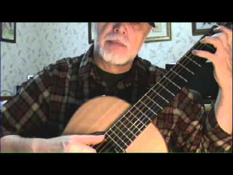 My Old Kentucky Home - Stephen Foster (Fingerstyle Guitar)