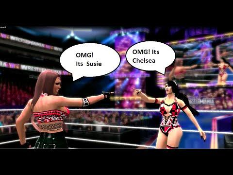 WWE 2k14 -SUSIE VANG's OMG! Moment Feat.Chelsea (XiSnowangel)