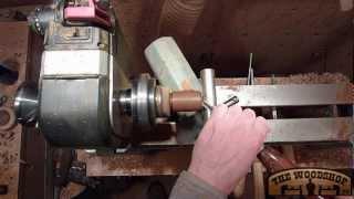 Woodturning Ipe Wood Box