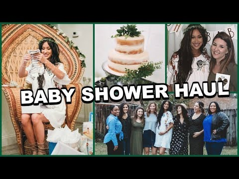 My Baby Shower Haul Baby Boy Goodies
