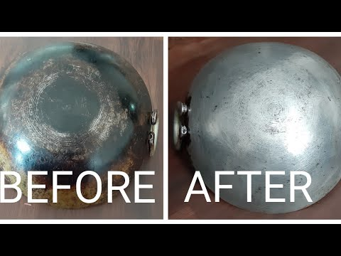KITCHEN TIPS, HOW TO CLEAN THE BURNT VESSEL EASILY