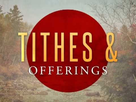 My Help Comes from You Ministry Tithes and Offerings Video ...