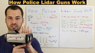 How Police Lidar Guns Work