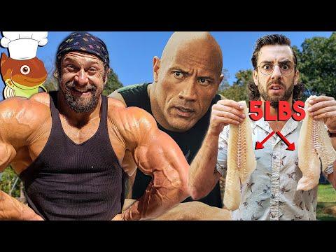 We Tried The Rock's Cod Diet & Shoulder Workout