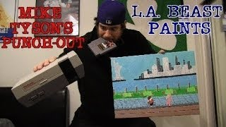 L.A. BEAST PAINTS | Nintendo's Mike Tyson's Punch-Out!! (Training Montage)