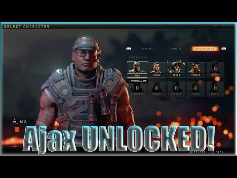 How to UNLOCK New Characters in Blackout: AJAX Tutorial