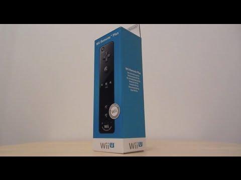 Wii Remote Plus (Wii U Version) - Unboxing