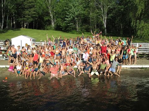 Adult Summer Camp Huge Wilderness Raging Party