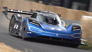 Volkswagen ID.R Hill Climb Monster! - FASTEST Car Ever at Goodwood Festival of Speed!