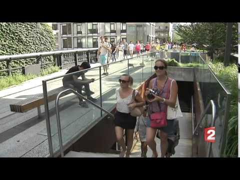New York Off Road - Reportage France 2 Journal Télévisé 20H 1er aout 2015