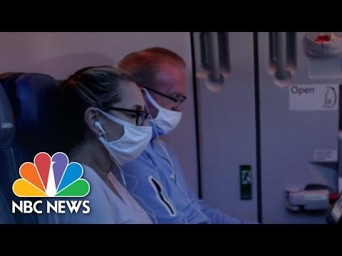 Airlines Focus On Air Quality To Ensure Passengers' Safety | NBC Nightly News