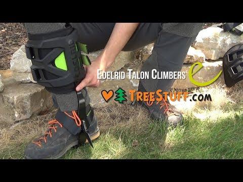 Edelrid Talon Climbing Spurs - TreeStuff.com Product Profile