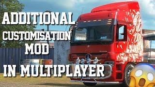 Euro Truck Simulator 2 Multiplayer Mod | Additional Customisation Mod | Toast 🚚