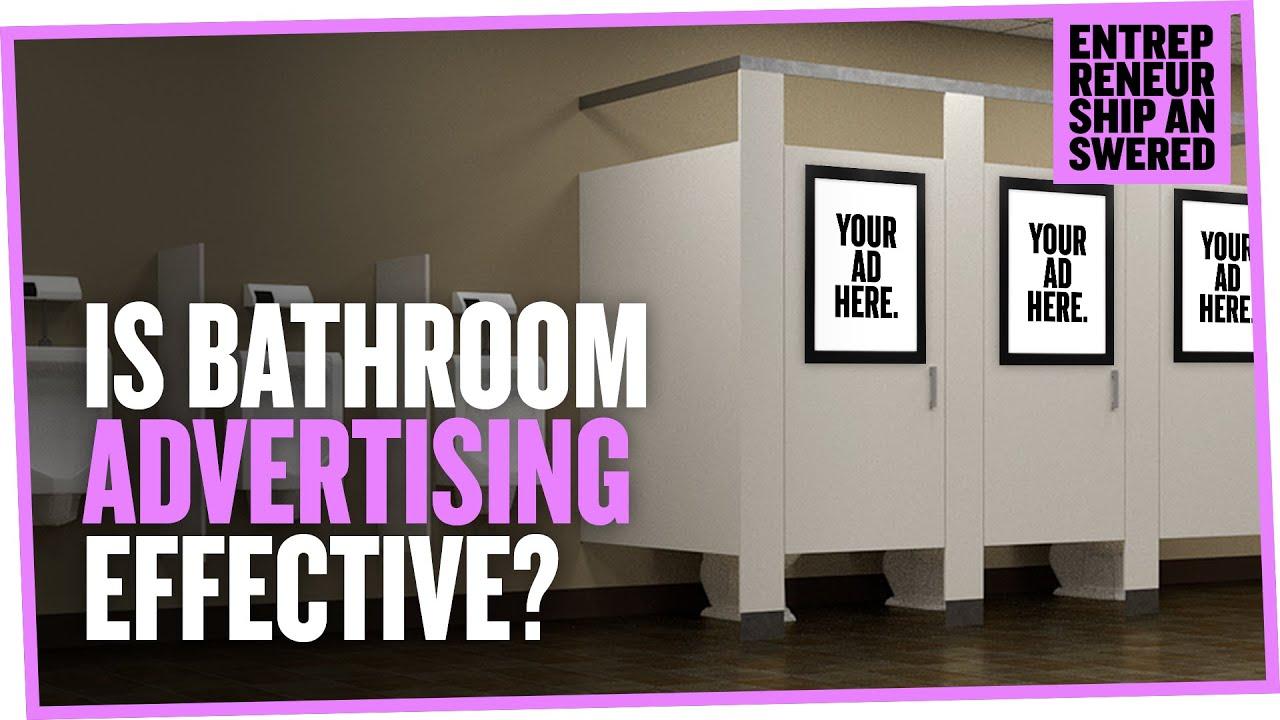 is bathroom advertising effective youtube - Magenta Bathroom 2016
