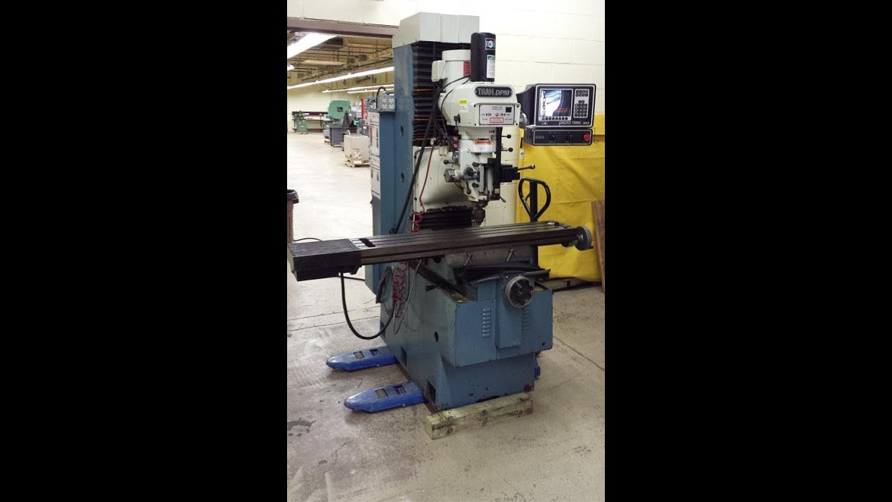 prototrak dpm3 cnc bed mill mx3 1996 for sale by greasymachines rh youtube com