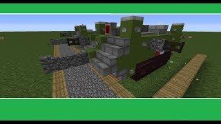 minecraft french st chamond tank ww1 tutorial