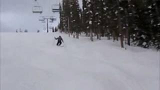 Patrick Walsh Skiing Moguls in Vail
