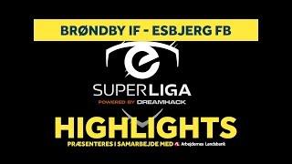 eSuperliga: Masser af mål i kampen mod Esbjerg fB   brondby.com