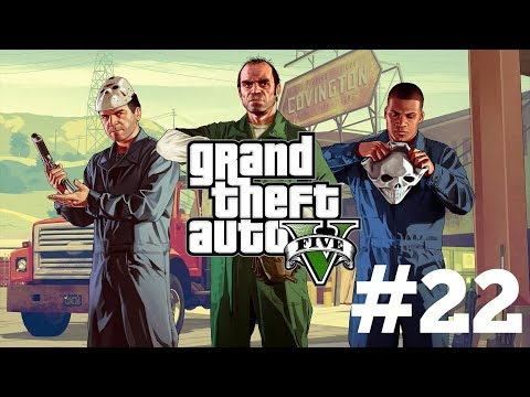 Grand Theft Auto 5 Gameplay (PS4) Walkthrough Part 22 - Legal Trouble!! (GTA 5)