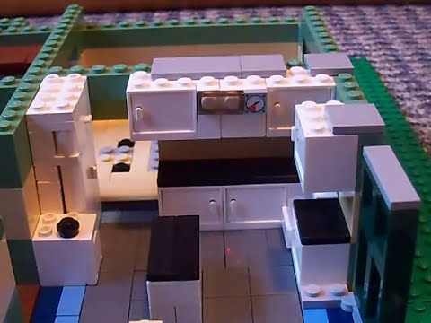 How To Build A Lego House With Garage