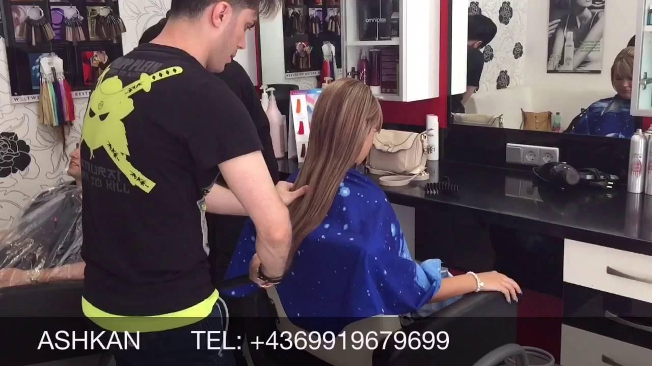 Haar Schneiden Maschine Langehaare Ashkan Friseur Meister Youtube