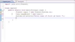 Java Programming Tutorial - 16 - Many Methods and Instances