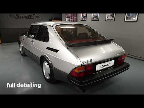 1985 Saab 900 Turbo Full Detailing By Swell.gr