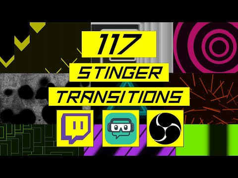 Custom Transitions Stingers for OBS and Streamlabs OBS
