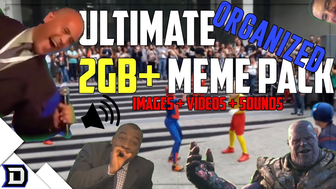 ULTIMATE Organized Meme Pack (2GB+ w/ download - videos ...