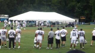 Carolina Panthers Training Camp 8/4/11 Cam to Barnidge