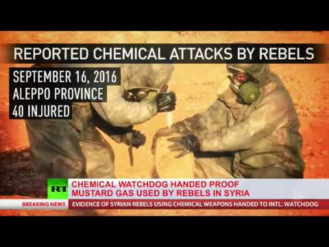 Syria hands over evidence Of mustard gas attack by rebels on civilians to OPCW (VIDEO)