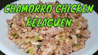 Chicken Kelaguen Guam recipes
