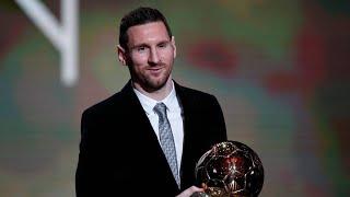 Lionel Messi Wins The Ballon D'Or - 2019