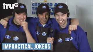 Impractical Jokers - Q Freezes with White Castle Customer's $20 Bill