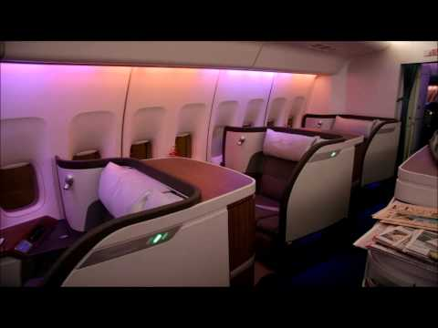 First Class Jet Night Flight - 8 Hours White Noise