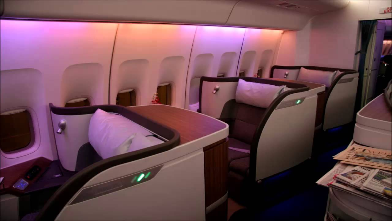 First Class Jet Night Flight - 8 Hours White Noise - YouTube