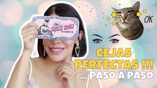 🤨 Cejas perfectas fácil  !!! Paso a Paso || Ana Ortiz TV