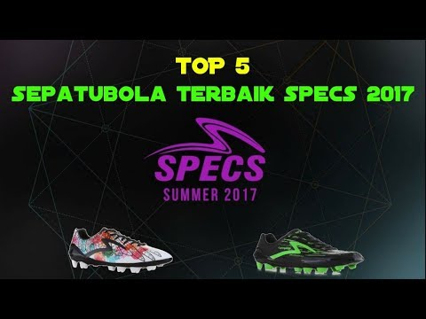 TOP 5. SEPATUBOLA SPECS TERBAIK 2017 (best specs football boots of the year 2017)