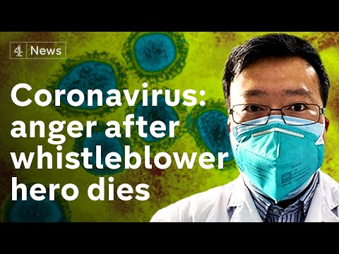 Anger In China After Coronavirus Whistleblower Doctor Dies From Disease