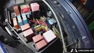 Renault Logan 2008 1.6. Не работает вентилятор охлаждения.