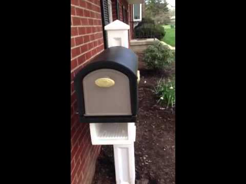 Step2 Mailmaster Hudson Mailbox With Plantar Youtube